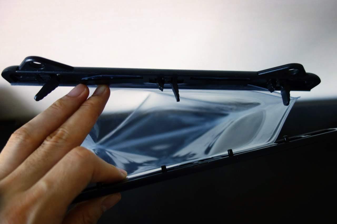 ipadケースの収納口