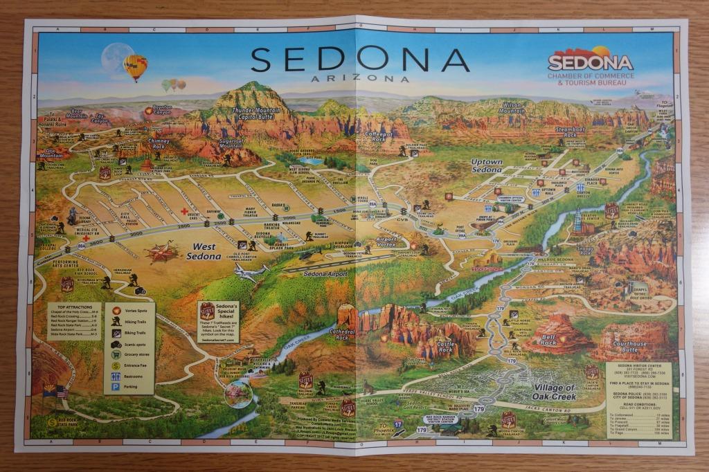 セドナの地図①